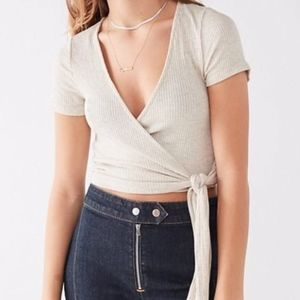 Urban Outfitters Project Social T wrap shirt